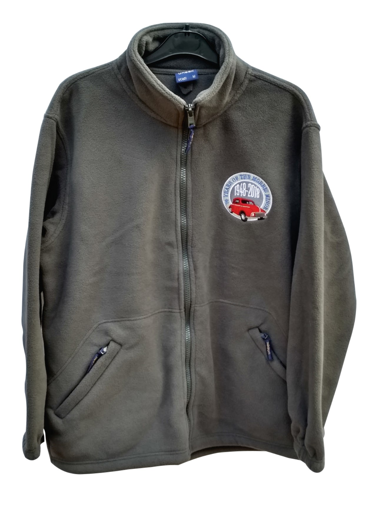70th Anniversary Fleece Charcoal