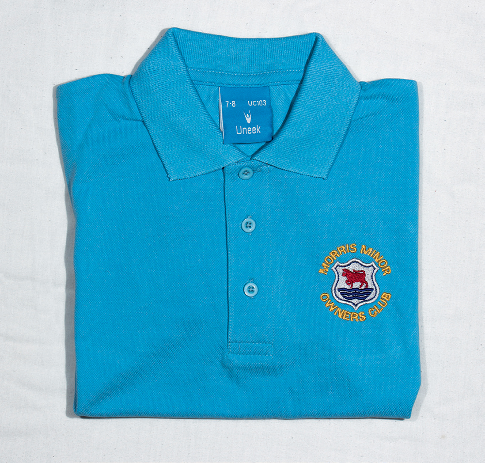 Child's's Polo Shirt - Sky Blue