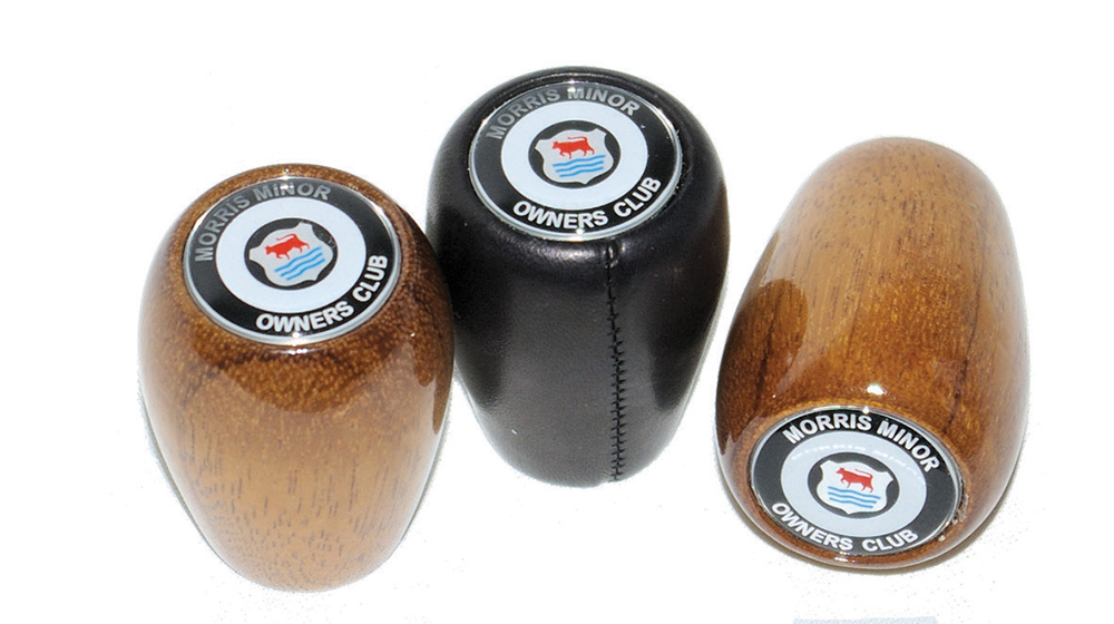 Gear Lever Knob - Black Leather