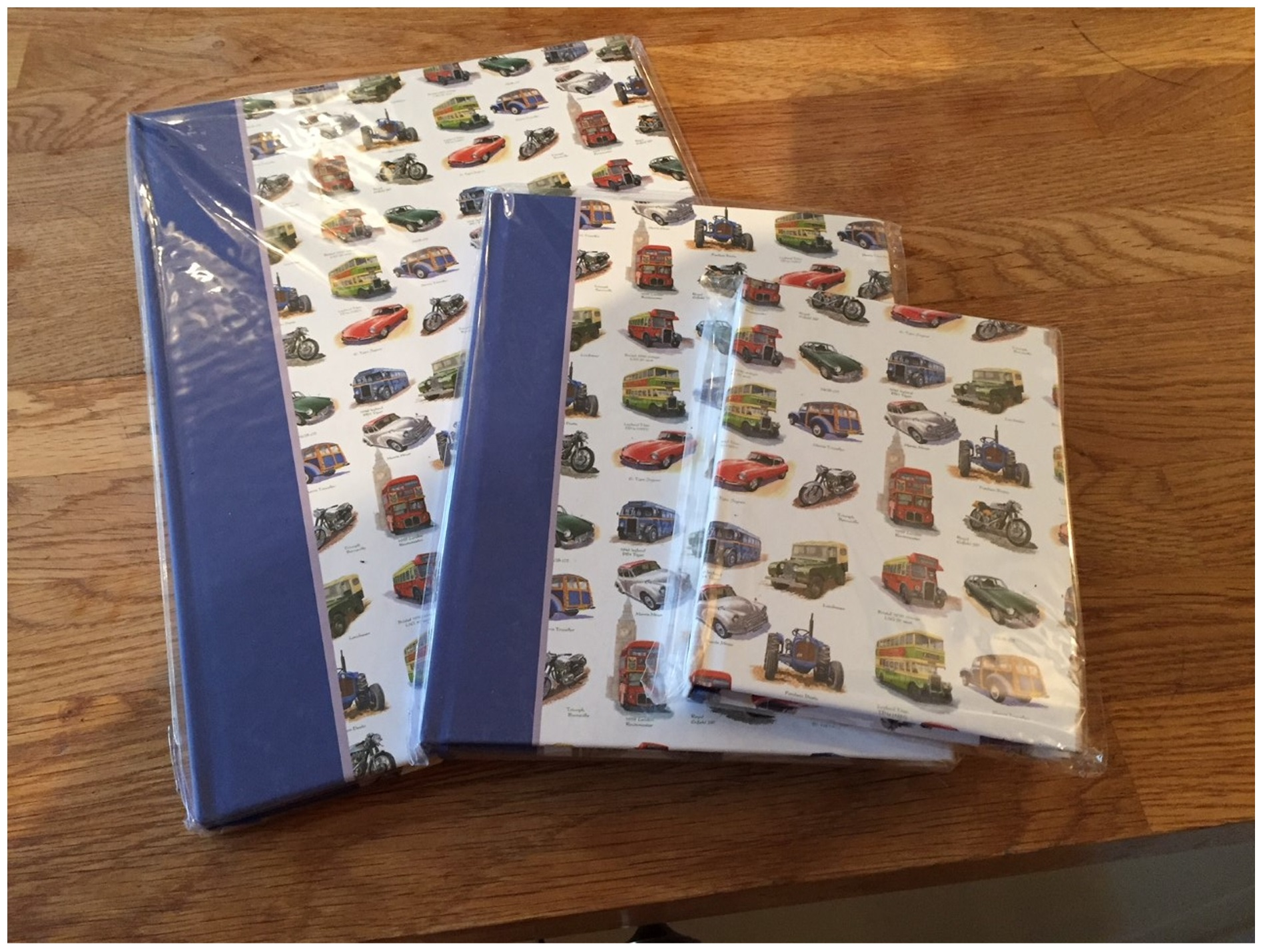 Hard Cover Note Book Set of 3