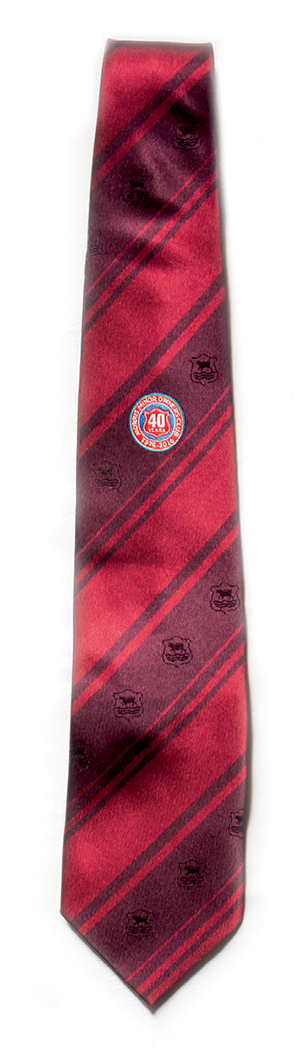 MMOC 40th Anniversary Club Tie