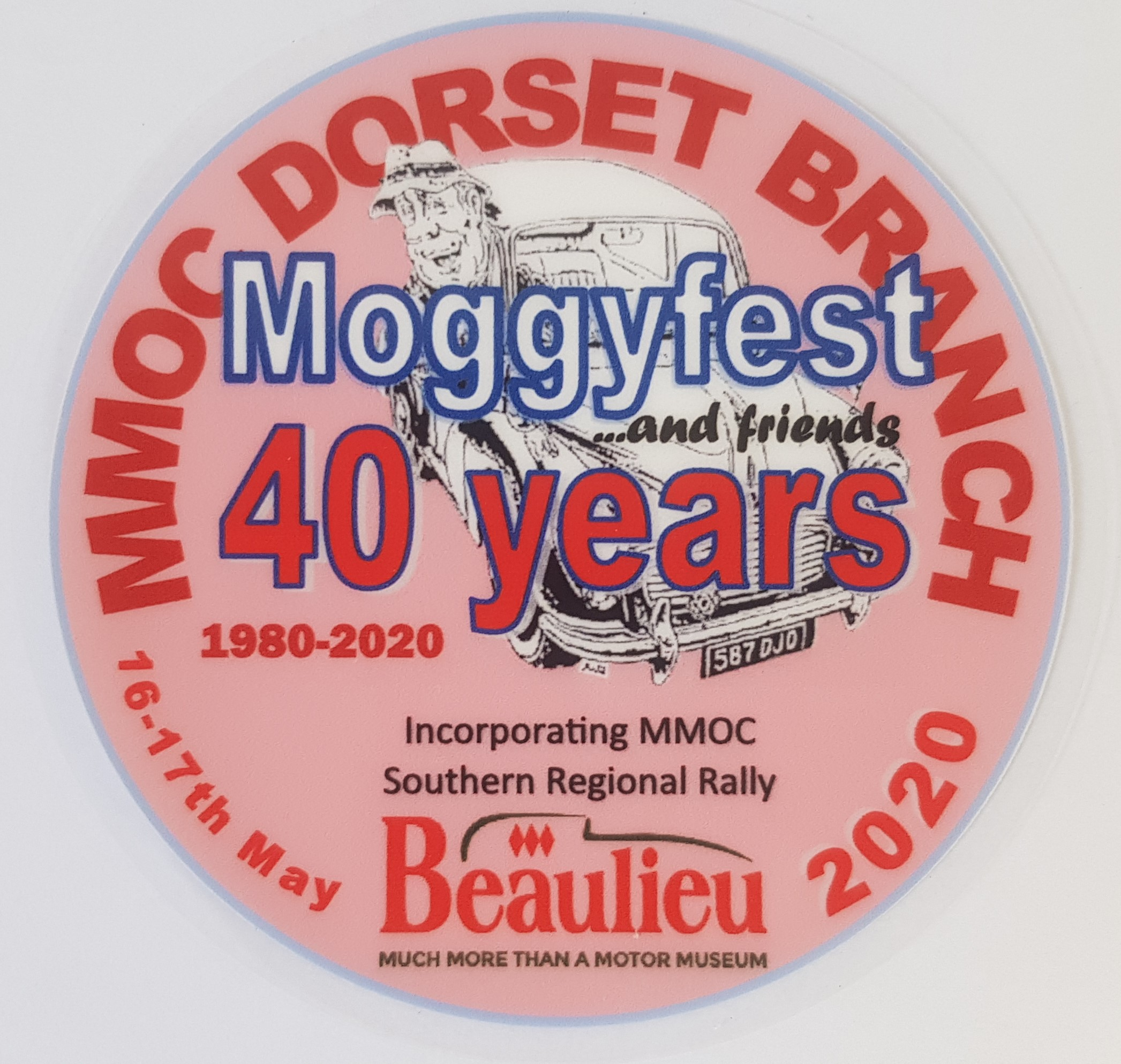 Moggyfest 2020 Rally Sticker