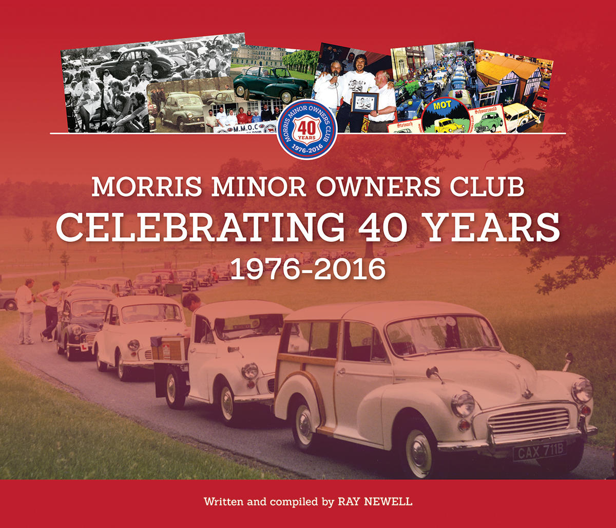 Morris Minor Owners Club Celebrating 40 years