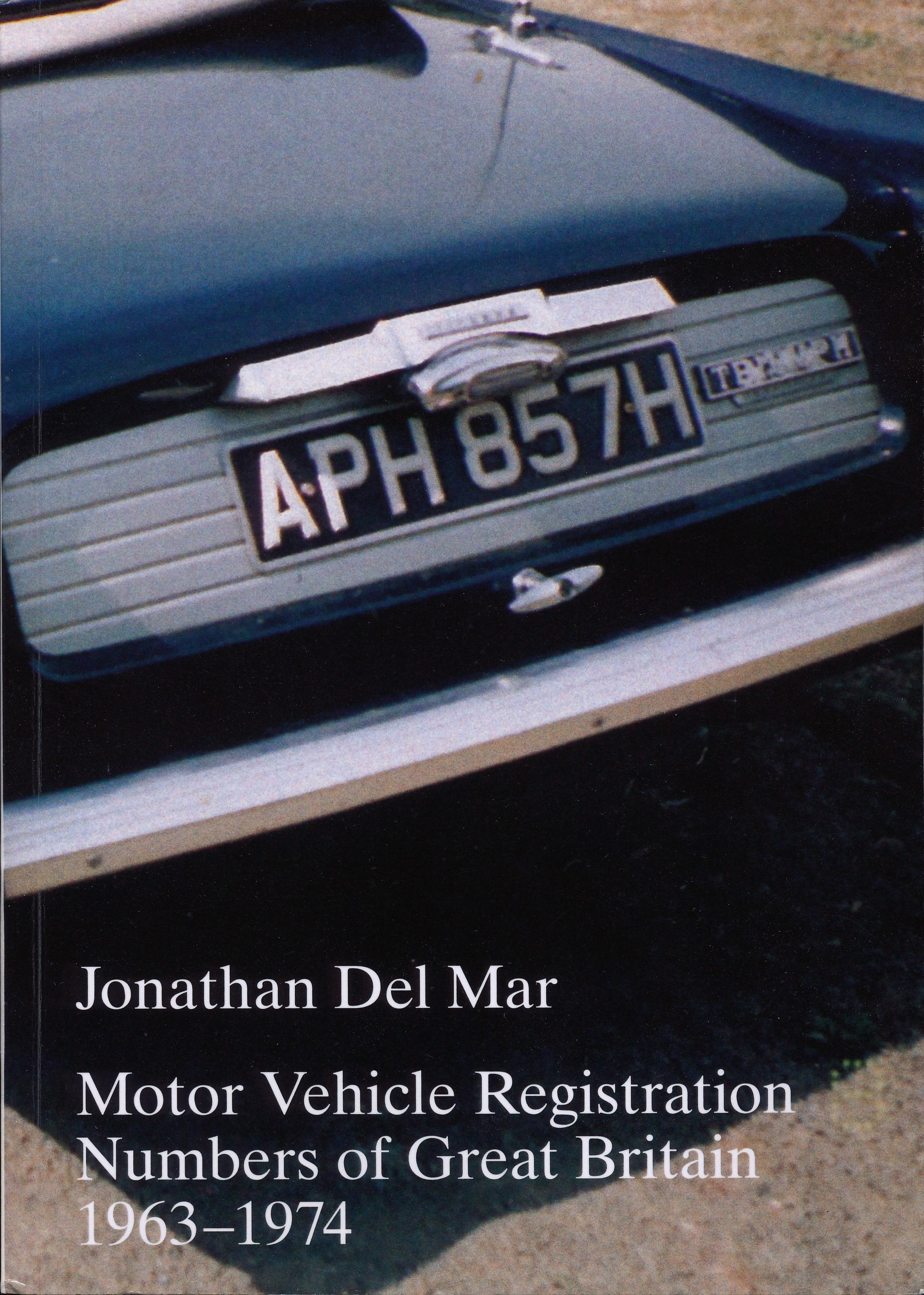 Motor Vehicle Registration Numbers of GB 1963-1974