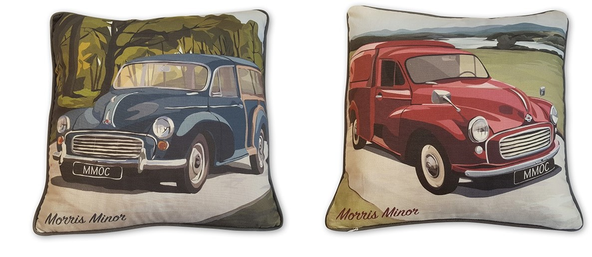 Cushion Cover - Traveller and Van