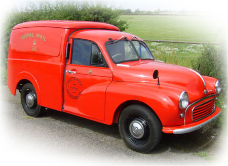 Morris Minor Royal Mail Van