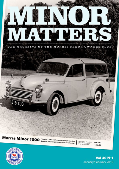 Minor Matters Latest Edition Cover